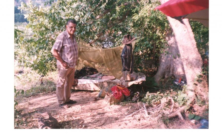 DA at camp