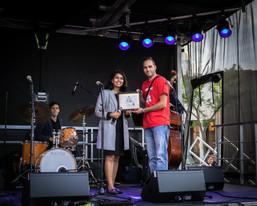 MPP Sara Singh & Artistic Director Carmen Spada