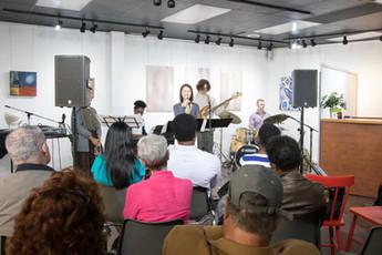 Alexa Belgrave Quintet, Beaux Arts Gallery