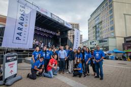 Mayor Patrick Brown and World of Jazz Festival Volunteers