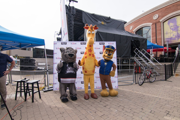 Kids Zone featuring Boomer, Geoffrey, and Chase