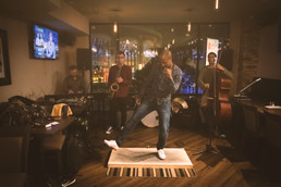 Travis Knights Jazz United Jam, Wendel Clark's Classic Grill