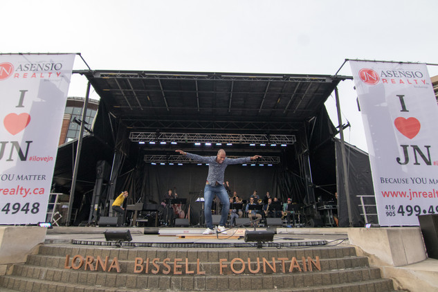Carmen Spada, featuring Toronto Jazz Orchestra and Travis Knights, JN Realty Mainstage