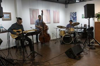 Brickhouse Trio, Beaux Arts Gallery