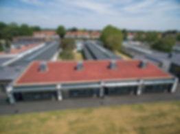 Green roof, living roof, Icopal built up felt