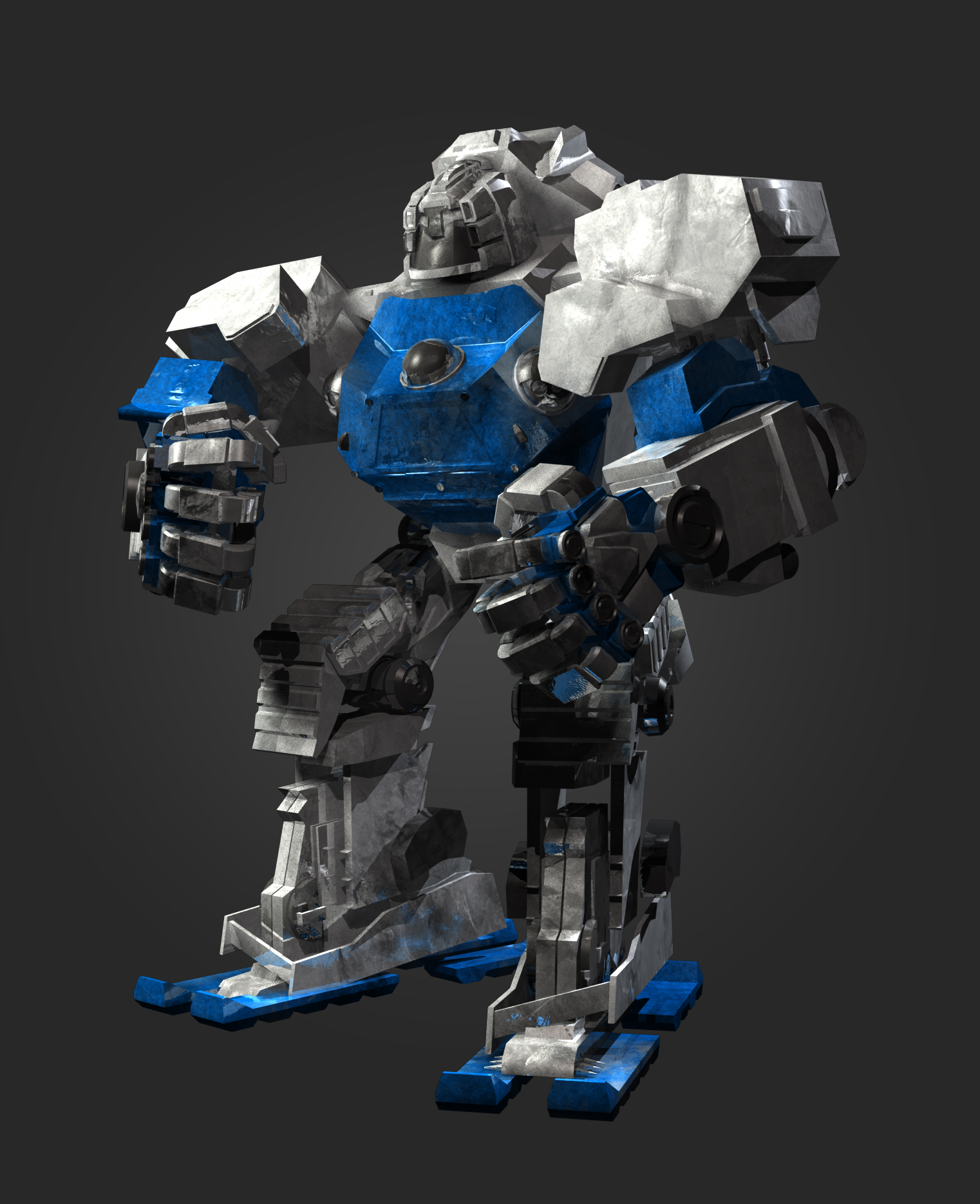 Giant Robot Clash
