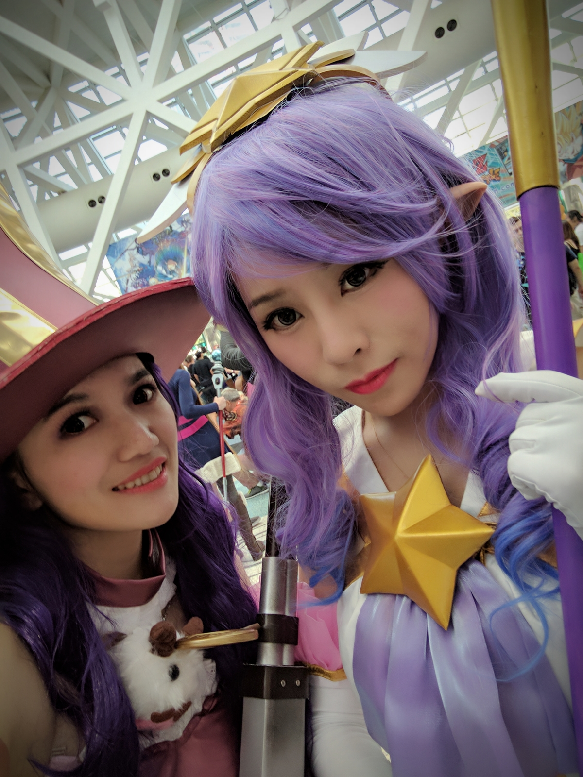 Classic Caitlyn + Star Guadian Janna