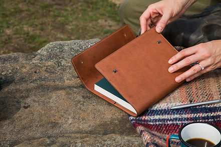 9. Billy Tannery - Leather Journal Noteb