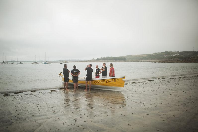 Gig Racing Boat, Porthcressa Beach.jpg