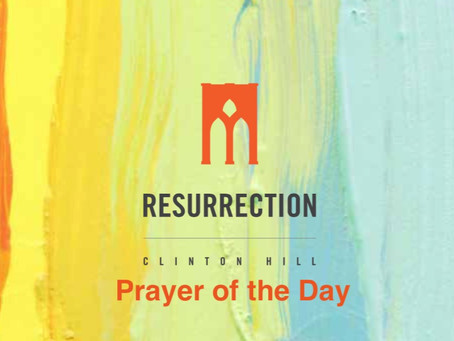 Prayer of the Day: Education
