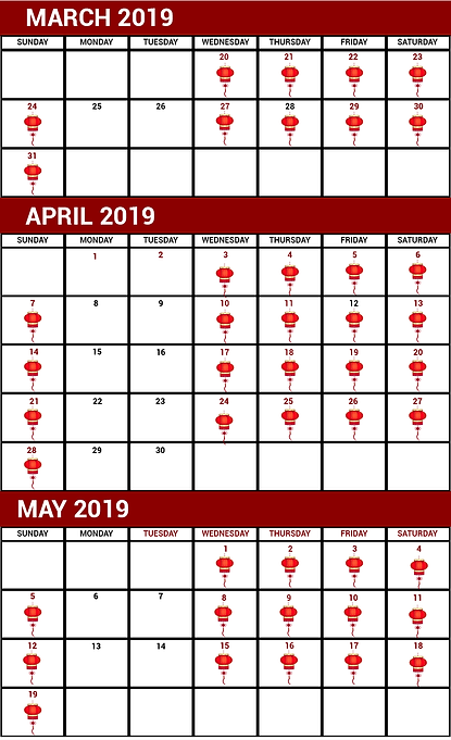 chinese calendar of events march 2019.pn