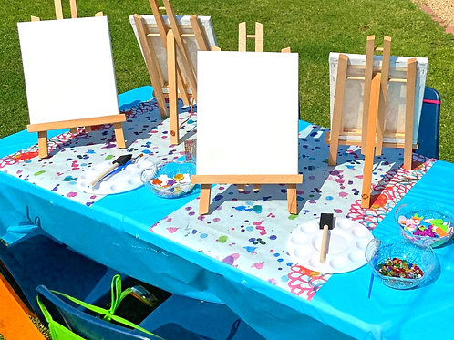 Easels and Easels of Fun Party