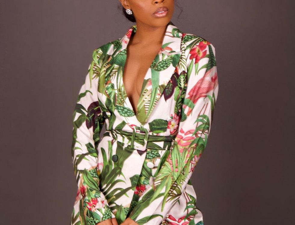 Jungle Fever Blazer Dress