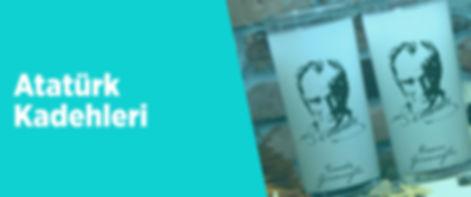 Atatürk Rakı Bardakları