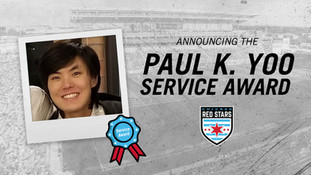 Chicago Red Stars Announce Annual Paul K. Yoo Service Award