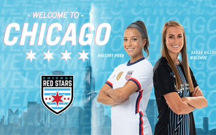 Chicago Acquires Mallory Pugh and Sarah Killion Woldmoe from Sky Blue FC