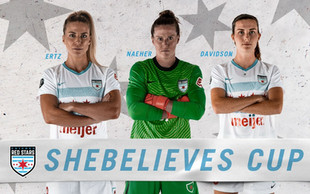 Three Chicago Red Stars Named to the U.S. SheBelieves Cup Roster