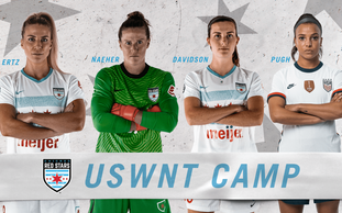 Four Red Stars Selected For U.S. WNT January Camp