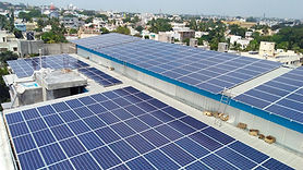 Image of Solar Rooftop PV SystemInstallation in Gulbarga.