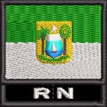 BANDEIRA EM SIGLA ESTADO RIO GRANDE DO NORTE