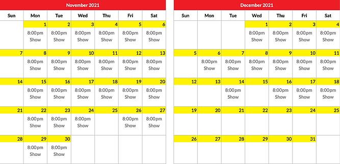 Presleys Nov Dec 2021 schedule.png