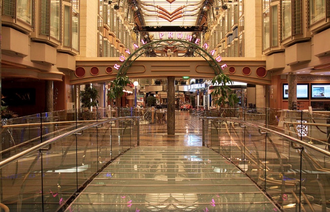 Bridge to Royal Promenade