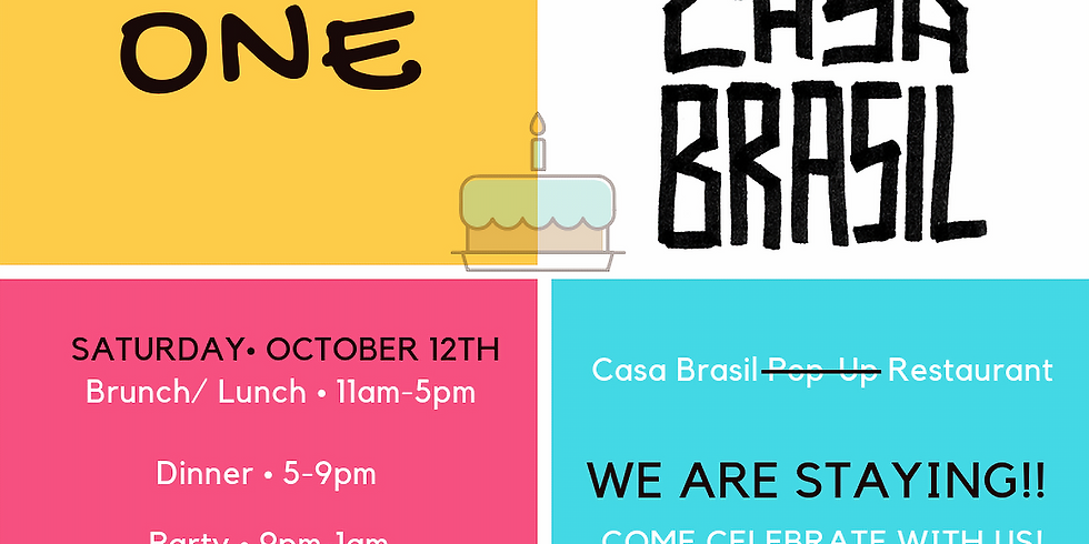 Welcome Home: No more Pop-Up! Casa Brasil turns 1