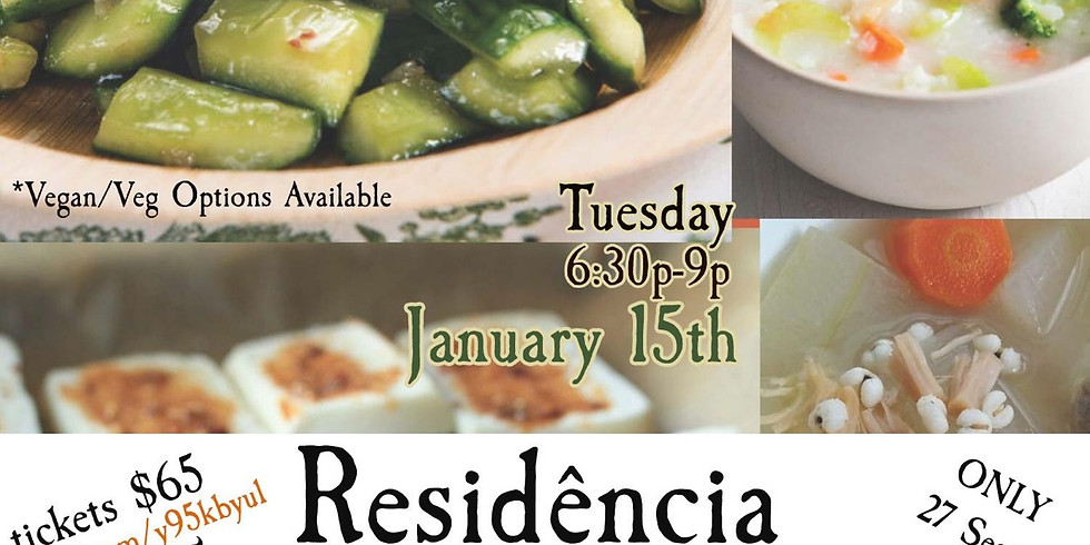 """Residência: The Hungry Cao """"Gourmet Chinese Tasting Dinner"""" (1)"""