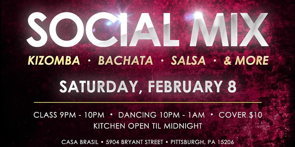 Social Mix Saturday at Casa Brasil: Kizomba & Bachata