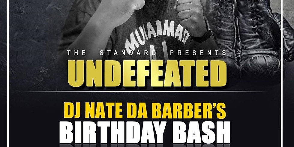 DJ Nate Da Barber's Birthday Bash