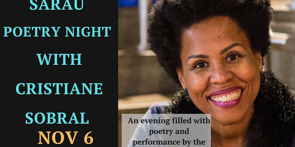Sarau (Poetry Night) w/ Cristiane Sobral