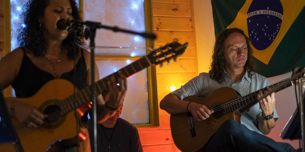 Live and Acoustic Brazilian Music with Vera and Adriano