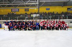 Teams replicate 1964 1st game photo