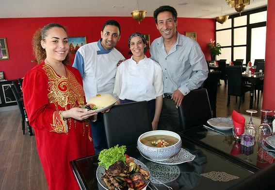 Equipe du restaurant