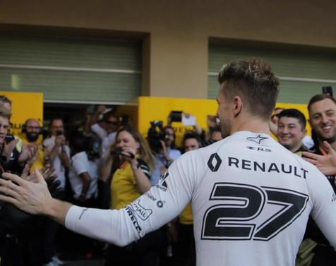 Nico Hulkenberg Renault x 16K agency