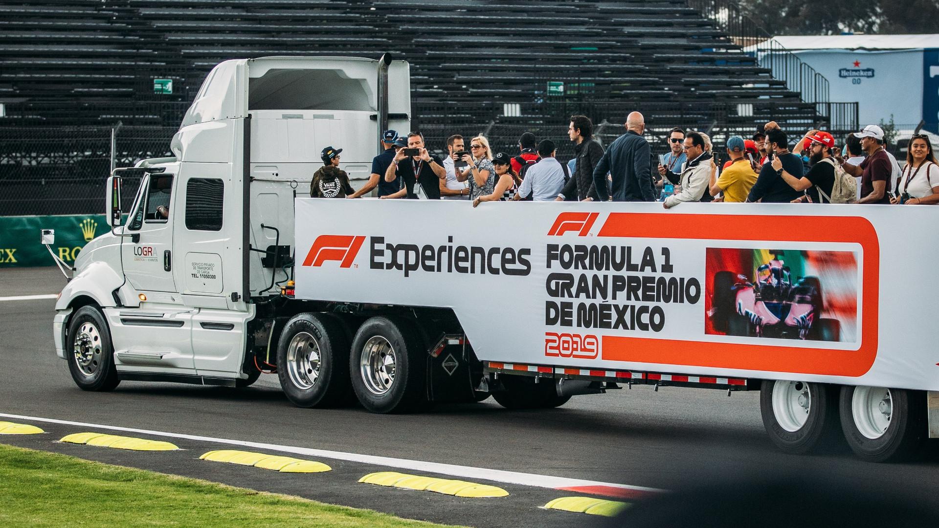 f1 experiences x 16k agency