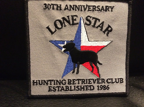 Lone Star HRC 30th Anniversary Embroidered Patch