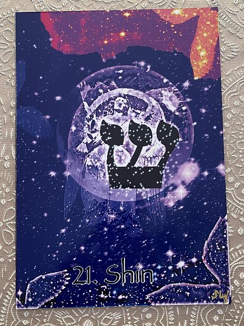 La lettre Shin