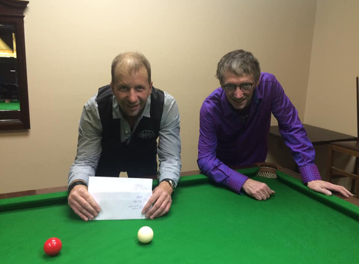 Leon Repeats As Open Champion At 2019 Maritime Closed Snooker Championships
