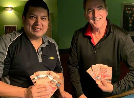 Basque and MacPherson Pair Up To Win 2019 CCS Maritime 8-Ball Scotch Doubles