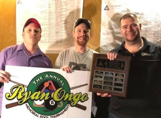 Derek Corbett Wins 2020 Ryan Ongo Memorial 8-Ball 'D' Division
