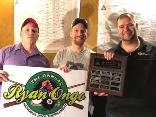 Derek Corbett Wins 2020 Ryan Ongo Memorial 8-Ball 'D' Division