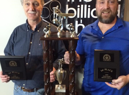 Bourque And Richard Claim 2020 Metro Pool League Partners Tournament