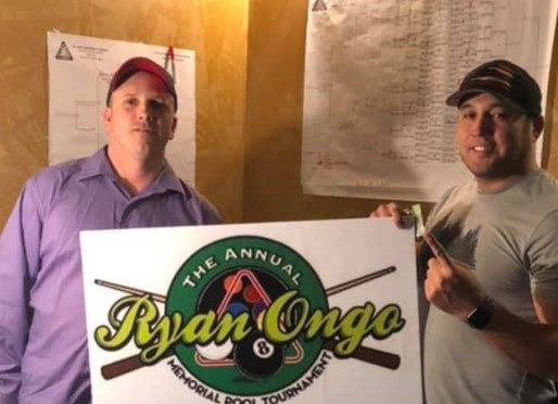 Basque Captures 2020 Ryan Ongo 8-Ball Memorial 'B' Division