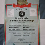 1983 Nova Scotia 8-Ball Championship Pos