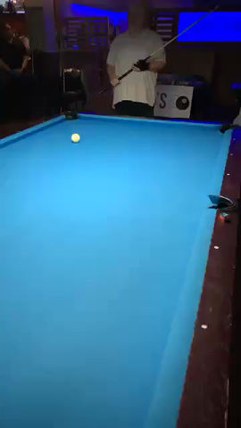 Teal Tames 10-Ball Break Contest To Take Home The Jackpot