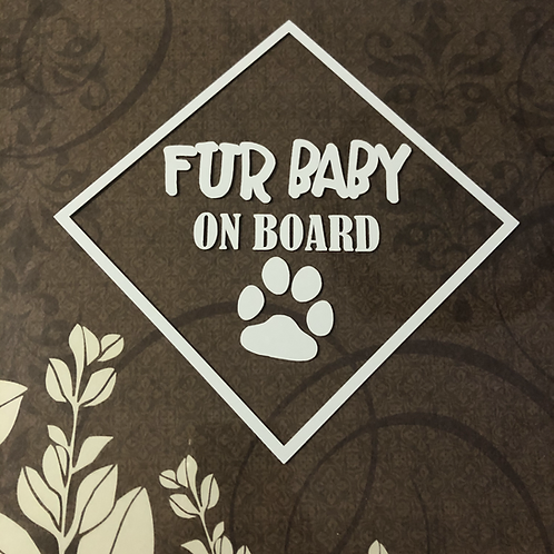 Fur Baby ON BOARD