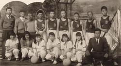 5. 中学校バスケット部 (1956年)