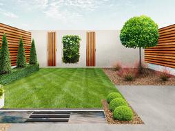 Design mockups for garden in Yeovil