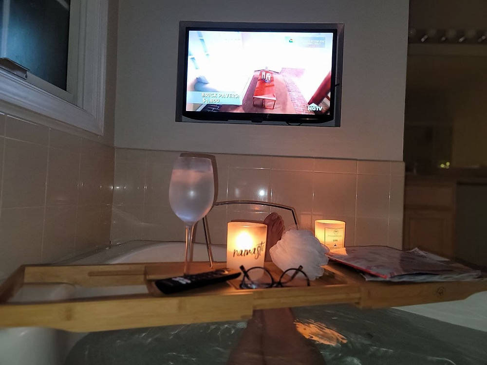 Soak in the tub